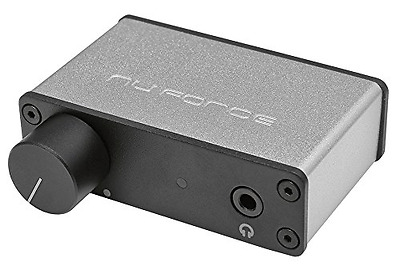 Optoma NuForce Mobile USB DAC and Headphone Amplifier (Silver)