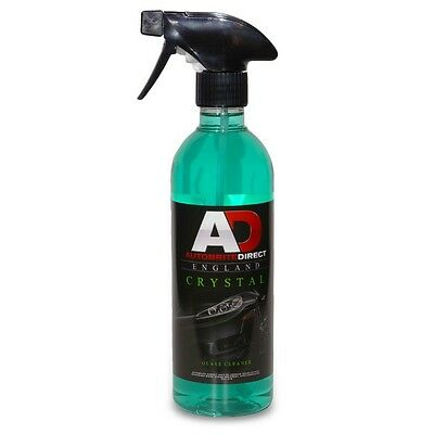 Autobrite Direct Crystal Glass Cleaner - Detailing Window Car Valet 500ml