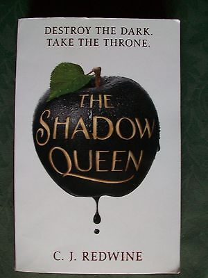 THE SHADOW QUEEN by C J REDWINE NEW 1st edition paperback