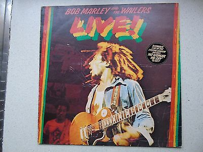 Bob Marley and The Wailers - Live - Vinyl Album