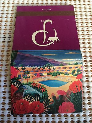 PRINCESS HOTELS Marquis Palm Springs Vintage  Matchbook Match cover