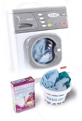 Electronic Washing Machine Casdon Role Play Toy Hotpoint Washer Kids Children