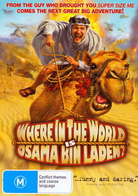 Where in the World is Osama Bin Laden? DVD ICON