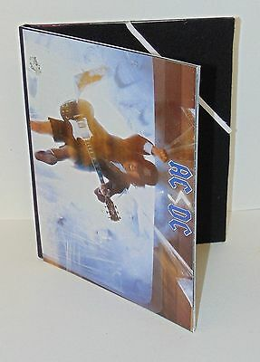 Acdc High Voltage  Upcycled Lp Vinyl Custom Ipad Or  Paper Pad Book Carry Case