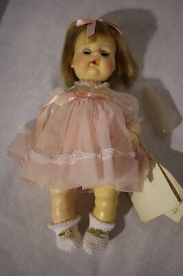 "NWT In Box MADAME ALEXANDER ""Sweet Tears"" Baby Doll W/ Pacifer & Bottle 13"""