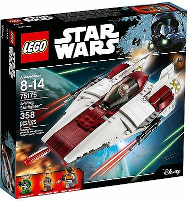**BRAND NEW * Sealed** LEGO Star Wars A-Wing Starfighter 75175  *Ready to Ship!*