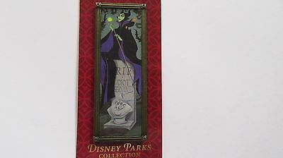 Disney Parks Collection Maleficent /Haunted Mansion Stretching Portrait  RIP Pin