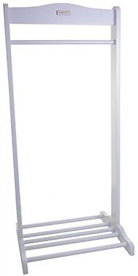 Solo Hanging Rail And Shoe Rack Soft Grey ,Toddler Height , Easy Assemble