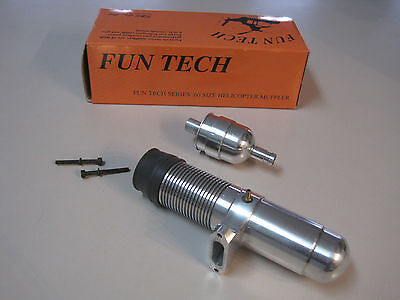 Fun Tech Series .60 Size Helicopter Muffler, New in box, LOOK