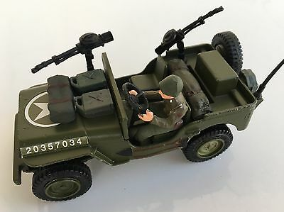Dinky Toys 612 - Us Jeep - Made In England Sans Boite - Excellent Etat