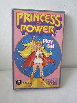 Vintage She-Ra Princess Of Power Colorforms Play Set Fun Gr8 For Christmas Gift