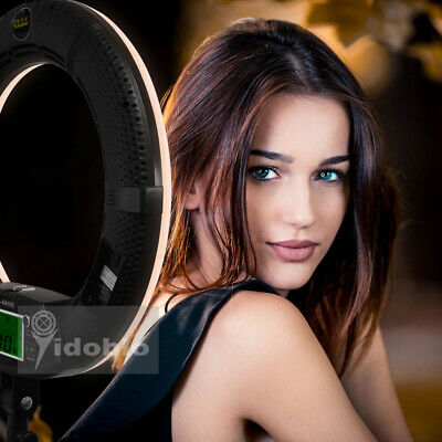 Yidoblo FE-480II Bi-color Dimmable LED Ring Light Photography for Photo Studio
