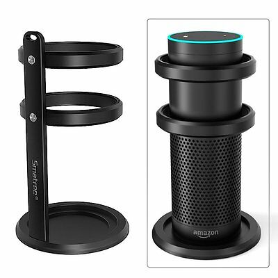 Smatree Aluminum Stand Guard for Amazon Echo with Silicon Line and No-slip Ring