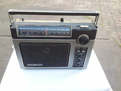General Electric Am/fm Radio Made In Hong Kong Used Working Ea7-28808