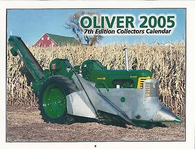 New 2005 OLIVER TRACTOR COLLECTOR'S CALENDAR