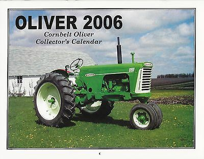 New 2006 Oliver Tractor Collector's Calendar