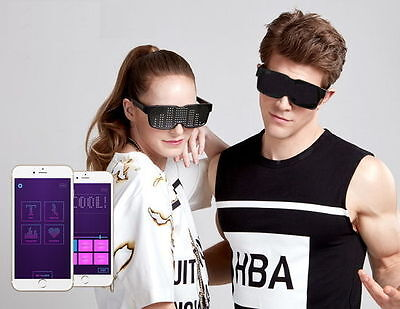 Chemion 2 Smart Sunglasses Party Club Bluetooth Sports LED New are