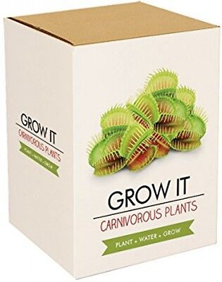 Gift Republic: Grow It. Grow Your Own Carnivorous Monster Plants Seeds Grower