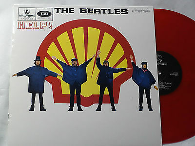 THE BEATLES - HELP! SHELL COVER -  RED LP Vinyl - NEW & NOT SEALED