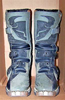Youth Size #1 THOR QUANDRANT Dirt Bike Racing Boots ATV Motorcross 11 High