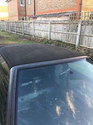 Mk3 Golf Cabriolet Convertible Roof Black