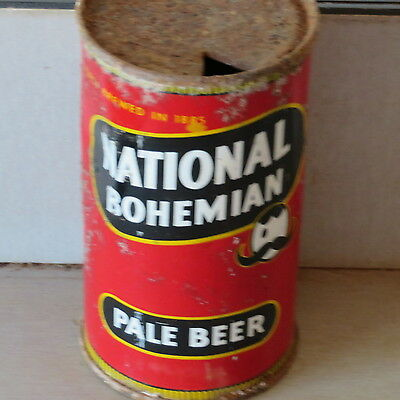 National Bohemian   Beer   Not Bad  Single  Side  Flat Top