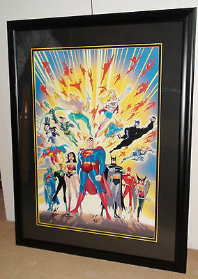 "DC Justice League ""Guardians of Justice"" Lithograph (#428/500)"