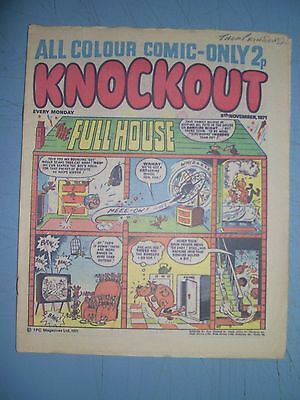 Knockout issue dated November 6 1971