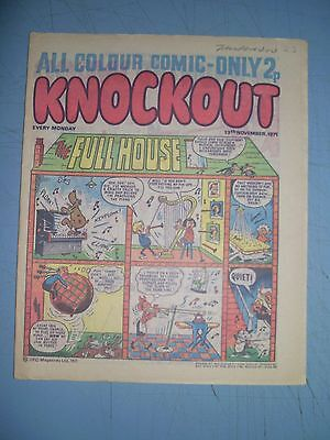 Knockout issue dated November 13 1971