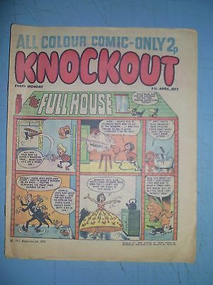Knockout issue dated April 8 1972