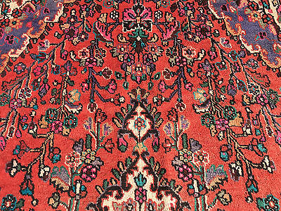 7x10 HAND KNOTTED WOVEN RUG PERSIAN MADE IRAN WOOL AREA 7 x 10 rugs blue 6 9 8