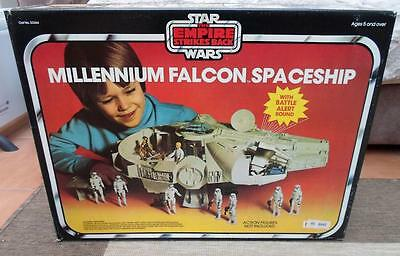 STAR WARS PALITOY MILLENIUM FALCON Brown shipper Kenner FIGURE 1979 ESB EMPIRE