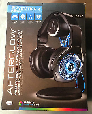 PDP Afterglow Nur Over-Ear Sound Isolating Wireless Headset - Black