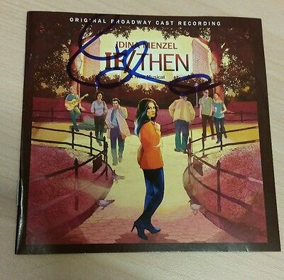 If/Then original Broadway Cast Recording signed by Idina Menzel proof