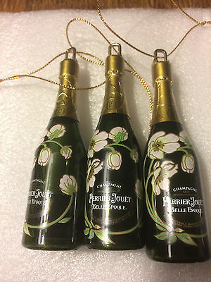 Perrier Jouet Decoration Ornament Miniature Champagne Bottle 5 Pack FreeShipping