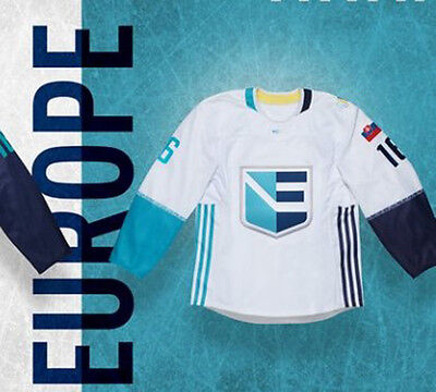 NEW PRICE - 2016 World Cup Team Euro Hockey Jersey - Custom ADIDAS