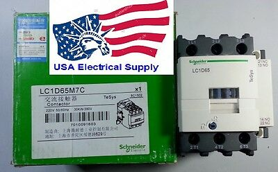 New Scheider /Telemecanique Electric Contactor LC1D65M Select coil  220VAC 65A