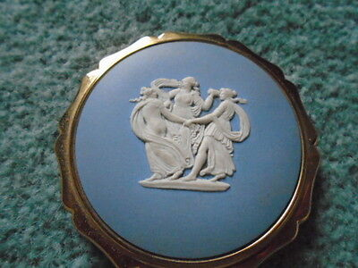 1950's Stratton Wedgewood Three Graces Powder Compact