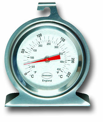 Oven Thermometer Stainless Steel Aga Gauge Temperature Cooker Range - 23/400/3