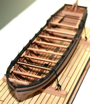 French boat 1660-1670 1/48 wooden kit model