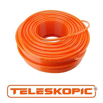 TELESKOPIC Window Cleaning Water Fed Pole Flexible PU Hose 8mm OD
