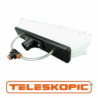 "10"" TELESKOPIC Window Cleaning Pole Brush Head"