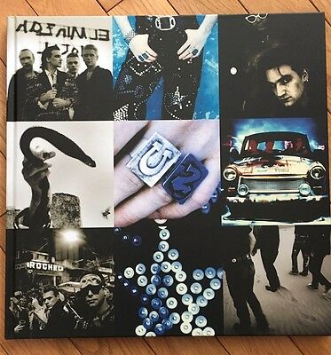 U2 Achtung baby 20th aniversary book