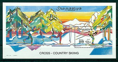 SOMALIA *2001* S/Sheet *MNH** Cross-Country Skiing - Mi.No BL76