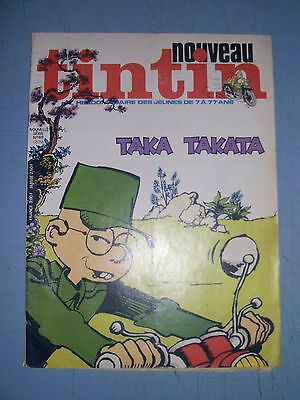Tintin issue 69 1977 french comic