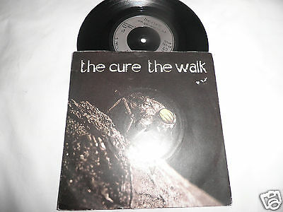 """the cure the walk 7"""" record vg"""