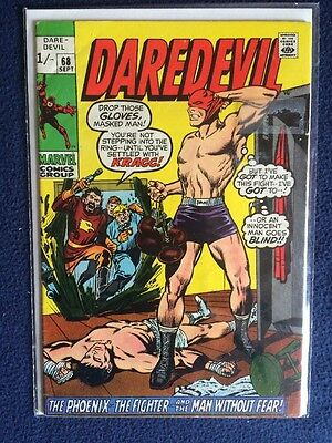 Daredevil # 68 Marvel Comics 1970 FN