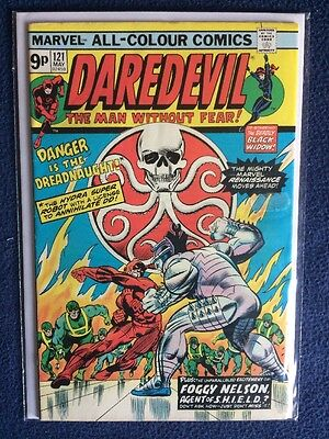 Daredevil # 121 Marvel Comics 1975 VFN