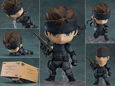 Metal Gear Solid Snake Sneaking Suit 447 Figure Figurine No Box