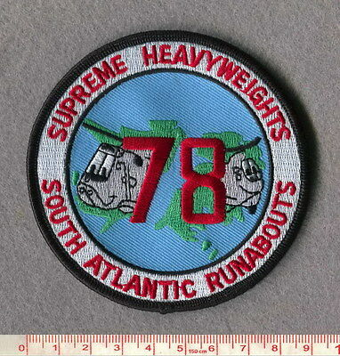 Royal Air Force 78 Sqn Seaking & Chinook Falklands Patch
